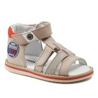 Chaussures Garçon Sandales et Nu-pieds GBB STEFAN VTC BEIGE-ROUGE DPF/NITRO