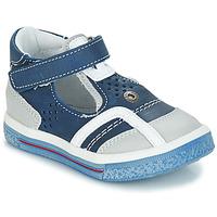 Chaussures Garçon Sandales et Nu-pieds GBB SALVADORE VTE MARINE-BLANC DPF/TIMES