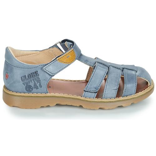 Chaussures Gbb Sandales Nu Et Bleu Garçon pieds Paterne mwOyNv8Pn0