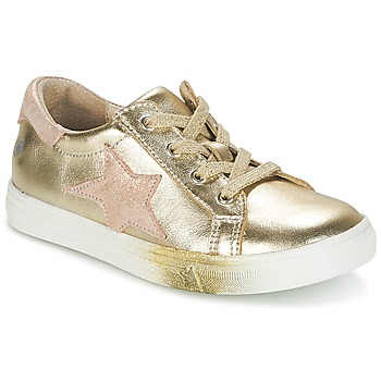 Chaussures Fille Baskets basses GBB REBECCA Or / Rose