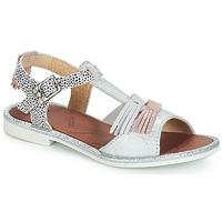 Chaussures Fille Sandales et Nu-pieds GBB MARIA VTE ARGENT DPF/COLA