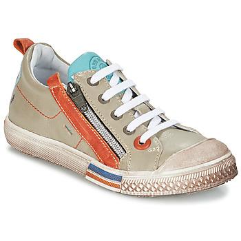Chaussures Garçon Boots GBB STELLIO VTE GRIS CLAIR DPF/LUCKY