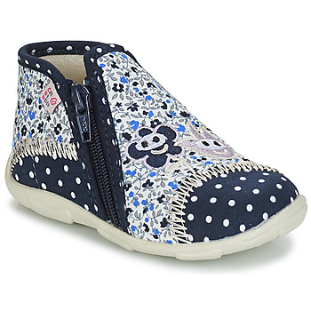 Chaussures Fille Chaussons GBB PILI TTX MARINE-FLEUR DTX/AMIS