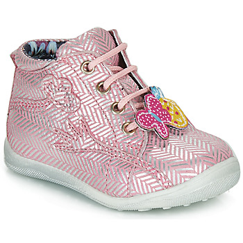 Chaussures Fille Boots Catimini SALAMANDRE VTE ROSE-ARGENT DPF/GLUCK
