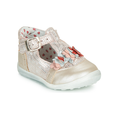 Chaussures Fille Boots Catimini SALICORNE VTC ROSE DPF/GLUCK