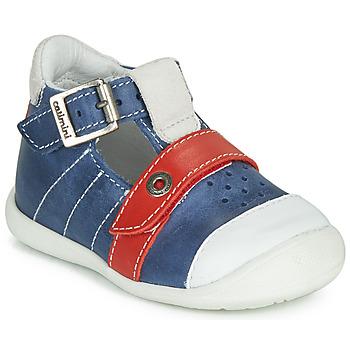 Chaussures Garçon Sandales et Nu-pieds Catimini SESAME Bleu / Rouge