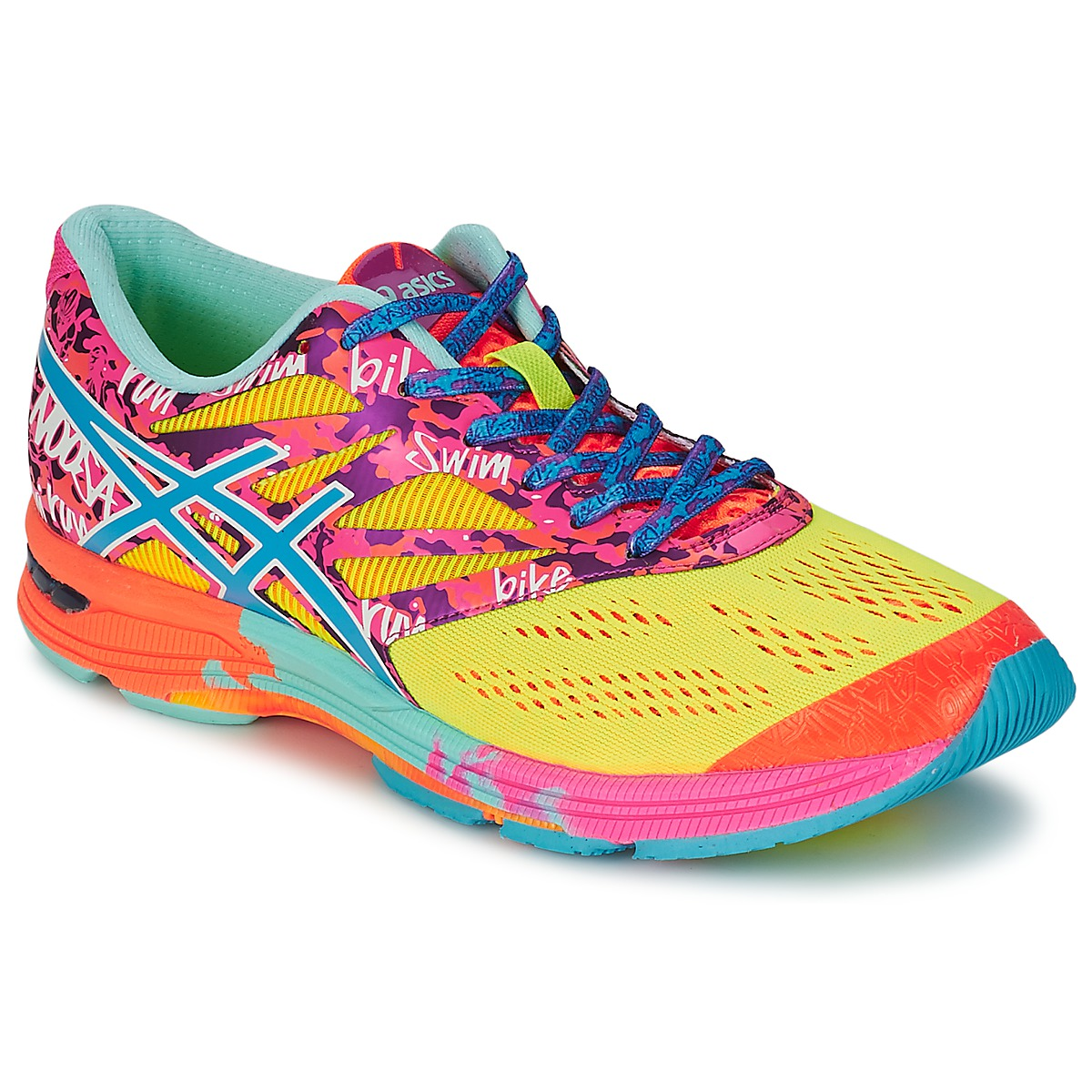 Chaussures-de-running Asics GEL-NOOSA TRI 10 Multicolore