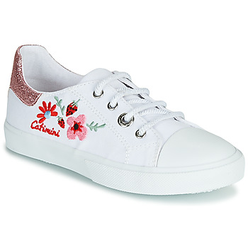 Chaussures Fille Baskets basses Catimini SAXIFAGE Blanc