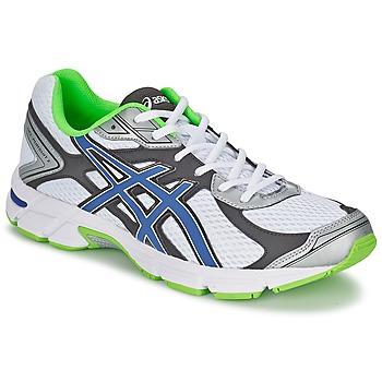 Chaussures Homme Running / trail Asics GEL-PURSUIT 2 Blanc / Bleu / Vert