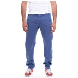 Vêtements Homme Chinos / Carrots Ritchie PANTALON CHINO CAROL Bleu