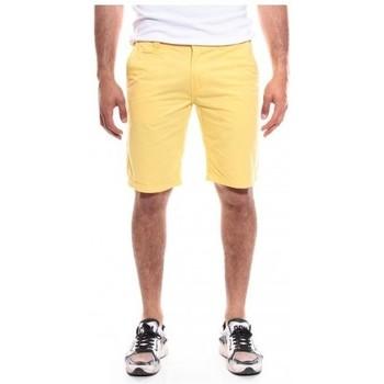 Vêtements Homme Shorts / Bermudas Ritchie BERMUDA BAGOO CASUAL Jaune