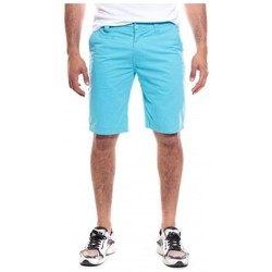 Vêtements Homme Shorts / Bermudas Ritchie BERMUDA BAGOO CASUAL Turquoise