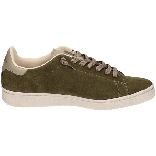 Lotto T0822 Chaussures de sport Homme Green Green - Chaussures Baskets basses Homme