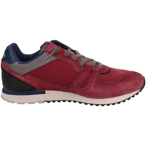 Lotto T0844 Chaussures de sport Homme Red Red - Chaussures Baskets basses Homme