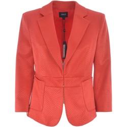 Vêtements Femme Vestes / Blazers Armani jeans 3Y5G07 Rouge