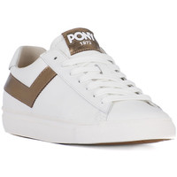 Chaussures Homme Multisport Pony TOPSTAR OX WHITE BRONZO Bianco