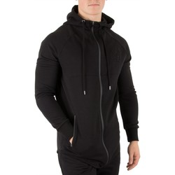 Vêtements Homme Sweats Sik Silk Homme Zip Interlock à capuche, Noir noir