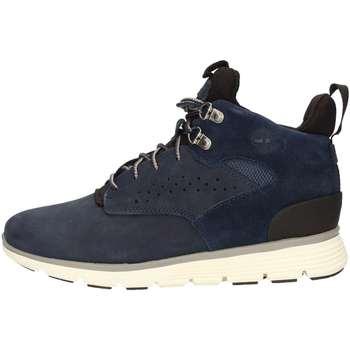 Chaussures Garçon Baskets montantes Timberland CA1JD6 Bleu