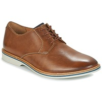 Chaussures Homme Derbies Clarks ATTICUS LACE Tan Leather