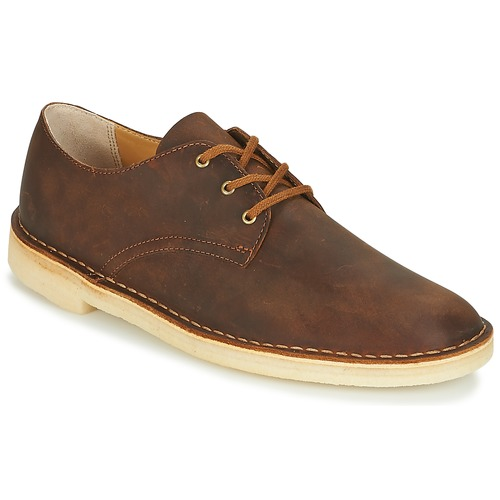 Clarks Desert Crosby Navy - Chaussures Baskets basses Homme