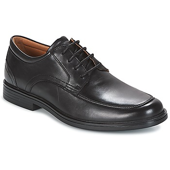 Chaussures Homme Derbies Clarks UN ALDRIC PARK Black Leather