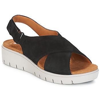 Chaussures Femme Sandales et Nu-pieds Clarks UN KARELY HAIL Noir