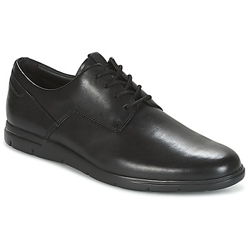 Chaussures Homme Derbies Clarks VENNOR WALK Black Leather