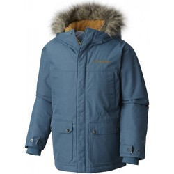 Vêtements Enfant Manteaux Columbia Veste De Ski  Snowfield Blue Heron Heather Bleu Marine