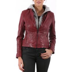 Vêtements Femme Vestes en cuir / synthétiques Gipsy Callie Rouge Rouge