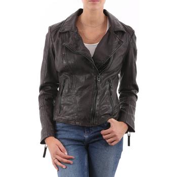 Vêtements Femme Vestes en cuir / synthétiques Gipsy Neni Anthracite Gris