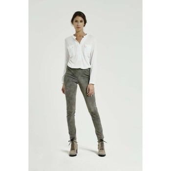 Vêtements Femme Leggings Max & Moi Legging NUSTO Gris
