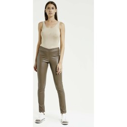Vêtements Femme Leggings Max & Moi Legging NUSTO Taupe