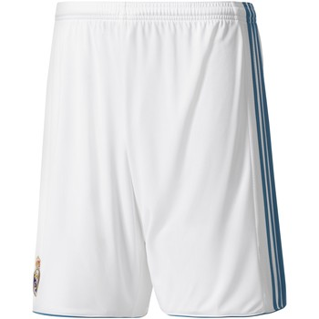Vêtements Homme Shorts / Bermudas adidas Originals Short Domicile Real Madrid 2017/2018-L blanc/bleu