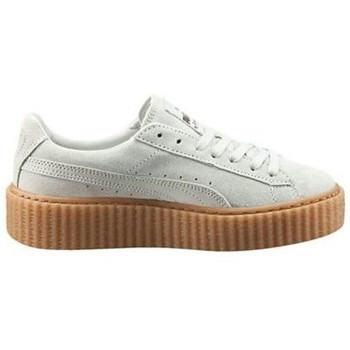 Chaussures Femme Baskets basses Puma Chaussures  x Fenty Rihanna Suede Creepers Select Blanc Blanc