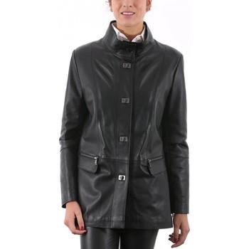 Vêtements Femme Vestes en cuir / synthétiques Giorgio Nanou Noir Noir