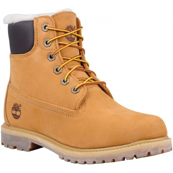 Chaussures Femme Boots Timberland Chaussures  6 In Premium Shearlin Wheat Marron Clair
