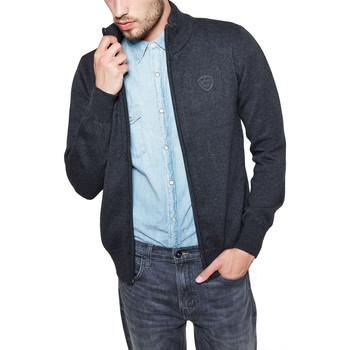 Vêtements Homme Gilets / Cardigans Schott SHOW 3 Gris