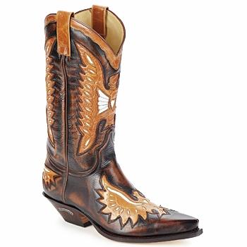 Botte ville Sendra boots CHELY Marron 350x350
