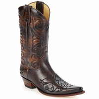 Chaussures Homme Bottes ville Sendra boots BILL Marron