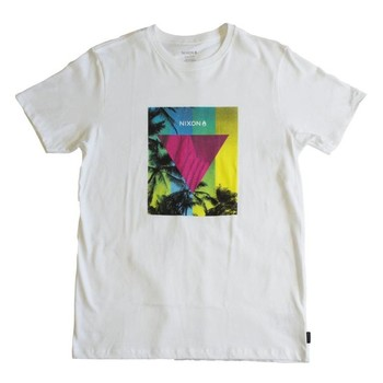 Vêtements Homme T-shirts manches courtes Nixon T-shirt  Resin - White blanc