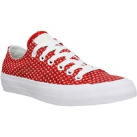 Chaussures Femme Baskets basses Converse Chuck Taylor All Star II toile Femme Rouge Blanc Rouge Blanc