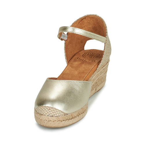 Et Cisca Doré Unisa Sandales Nu Chaussures Femme pieds LUMVpSzGq
