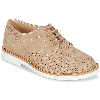 Chaussures Garçon Derbies Pablosky NOUFF Beige