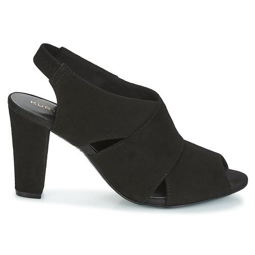 coverage pieds Foot Noir Nu black Kurt Femme By Et Sandales flex Geiger sandal Kg q3L54jAR