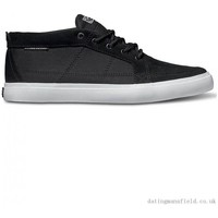 Chaussures Homme Chaussures de Skate DVS RIVIERA black black suede Noir