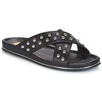Chaussures Femme Mules Buffalo ALOLAJEP Noir