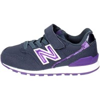 Chaussures Fille Baskets basses New Balance KV996F3Y Petite Sneakers Fille Bleu Bleu