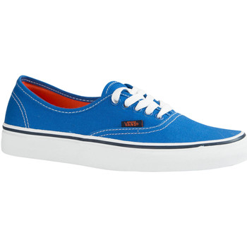 Bottines Vans chaussures femme u authentic stars bleu roi