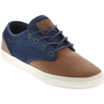 Chaussures Homme Baskets basses Globe MOTLEY DISTRESSED brown navy Marron