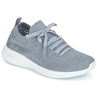Chaussures Femme Fitness / Training Skechers ULTRA FLEX Gris